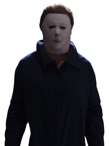 Michael Myers Latex Mask with Hair