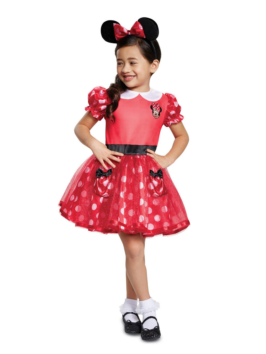View larger image of Minnie Mouse Costume for Toddlers in Red