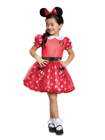 Minnie Mouse Costume for Toddlers in Red
