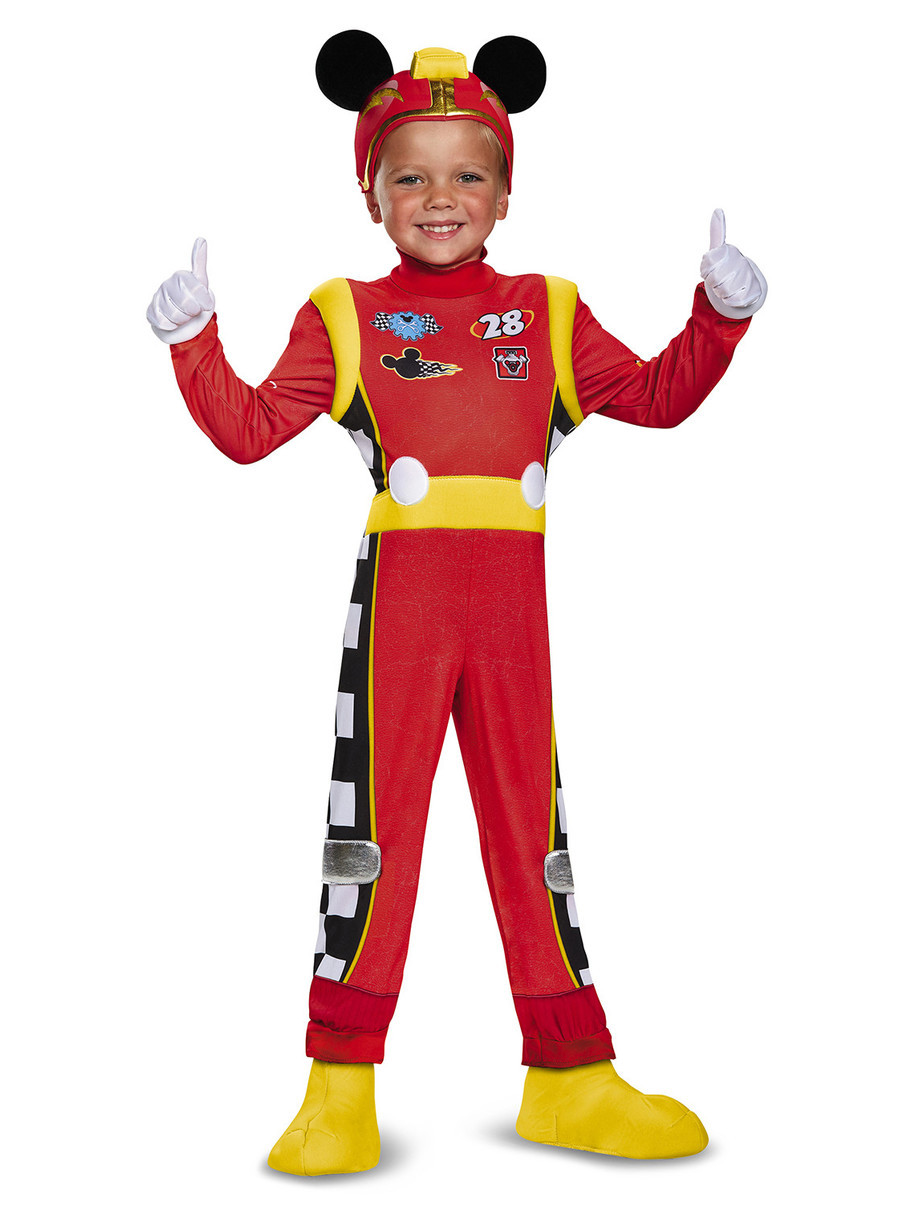 View larger image of Kids Mickey Roadster Costume Deluxe