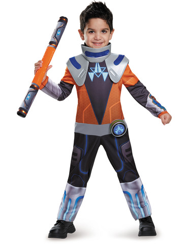 Miles From Tomorrow Land Toddler Miles Chrome Classic Costume