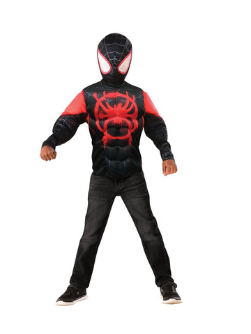 Muscle Chest Miles Morales Shirt Set