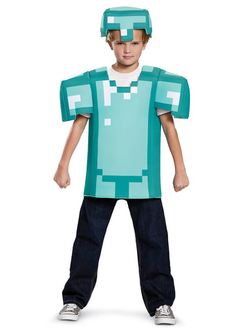 Kids Minecraft Armor Costume