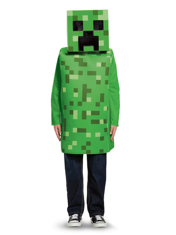 Kids Minecraft Creeper Costume