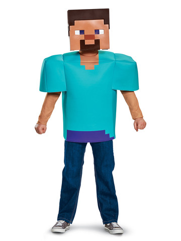 Kids Minecraft - Steve Costume