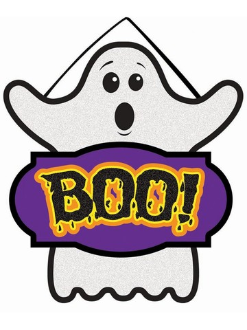 Mini Boo Sign