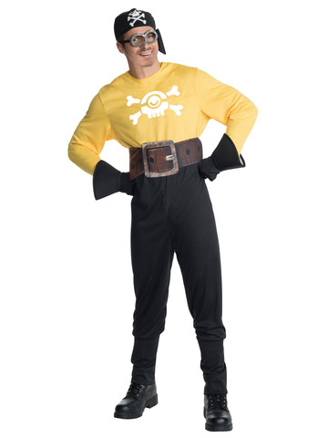 Adult Pirate Minion Costume - Minions Movie