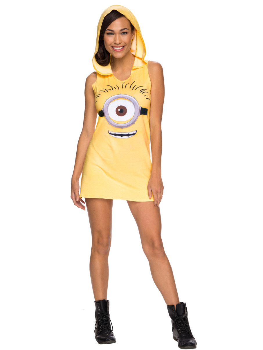 View larger image of Minions Movie: Hooded Tank Minion Dress