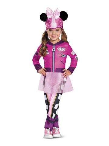 Kids Minnie Roadster Costume