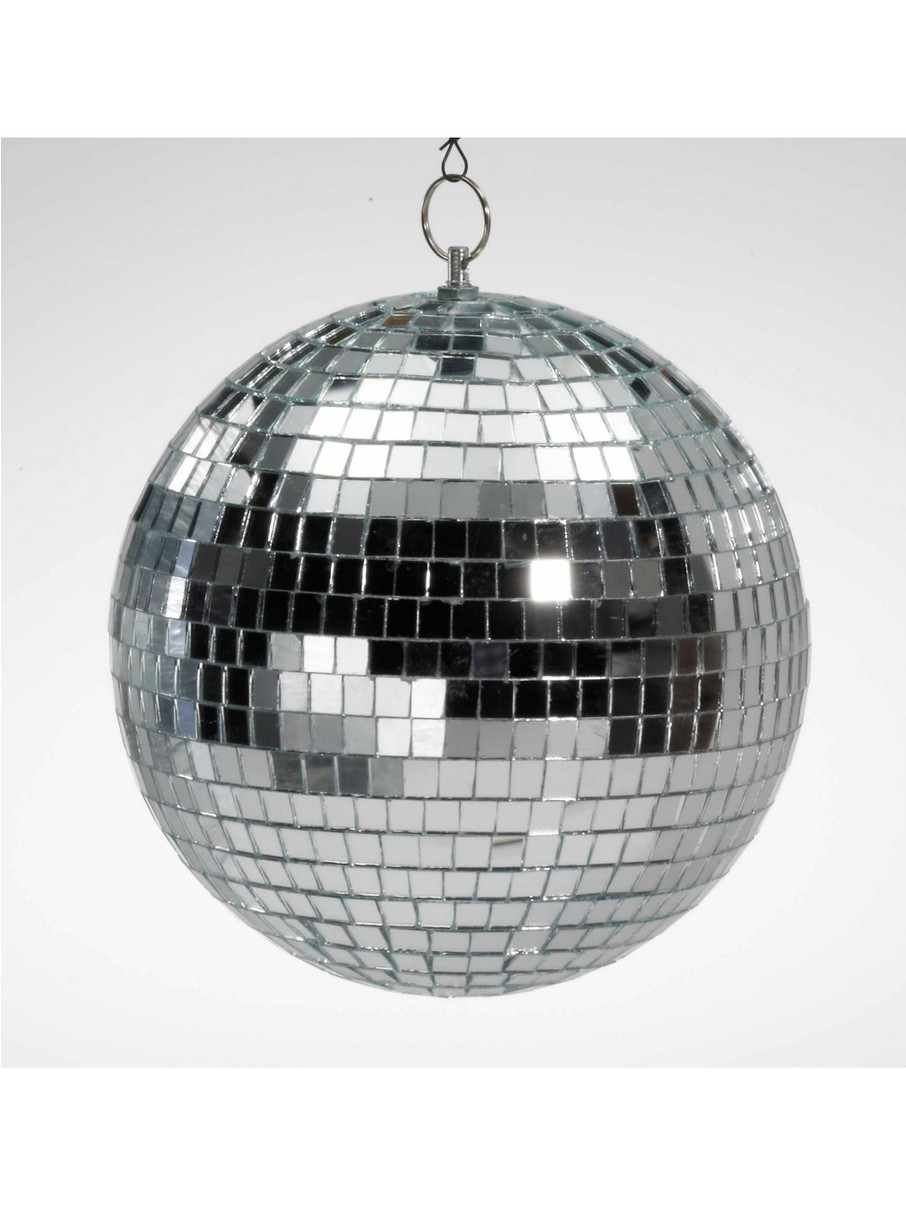 """View larger image of 8"""" Mirror Ball w/ Color Box"""