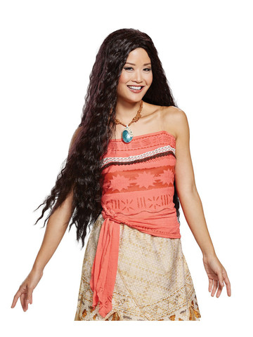 Deluxe Disney Moana Wig for Adults