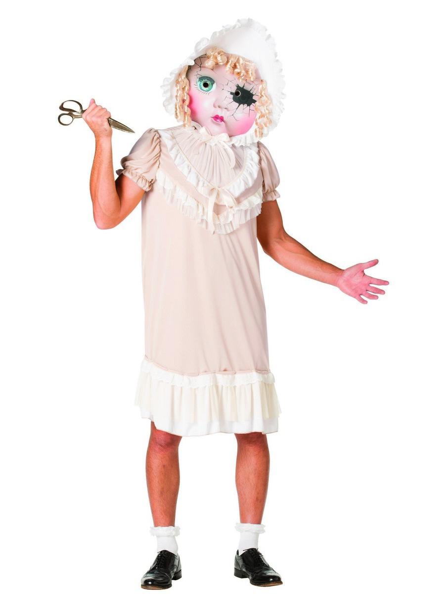 View larger image of Molly the Demonic Dolly Costume for Adults