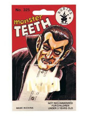Monster Teeth Accessory