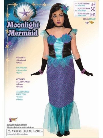 Moonlight Mermaid Costume