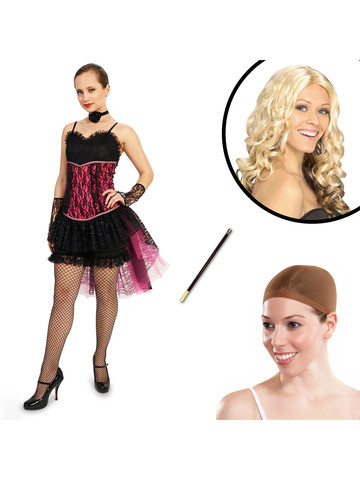 Can Can Adult Costume Kit