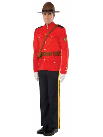 Mountie Mens Costume