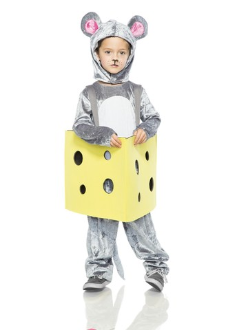 Mouse in Cheese Costume for Kids