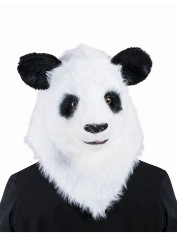Moving Jaw Mask - Panda