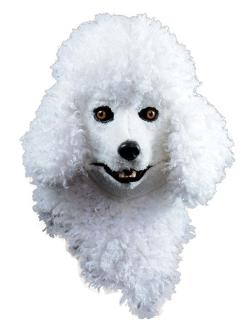 Poodle Moving Jaw Mask