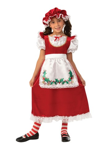 Mrs. Santa Claus Christmas Costume