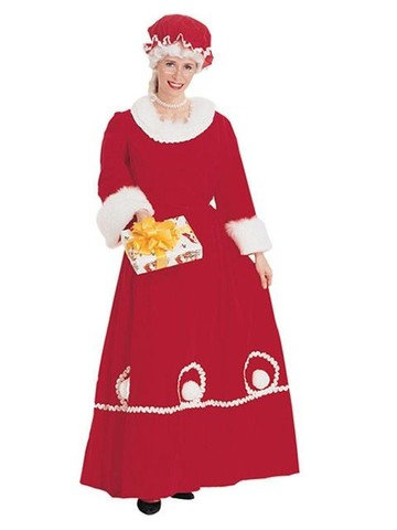 Mrs. Santa Dress Adult
