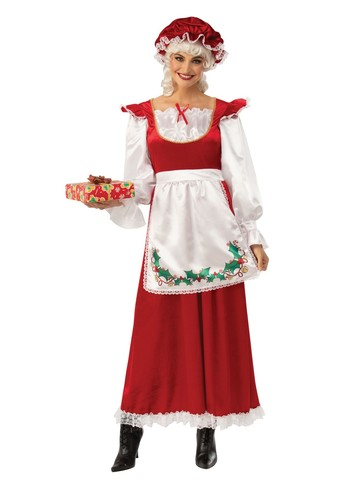 X-mas Ms. Santa Claus Costume