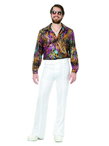 Disco Multi Flame Shirt Plus Sized
