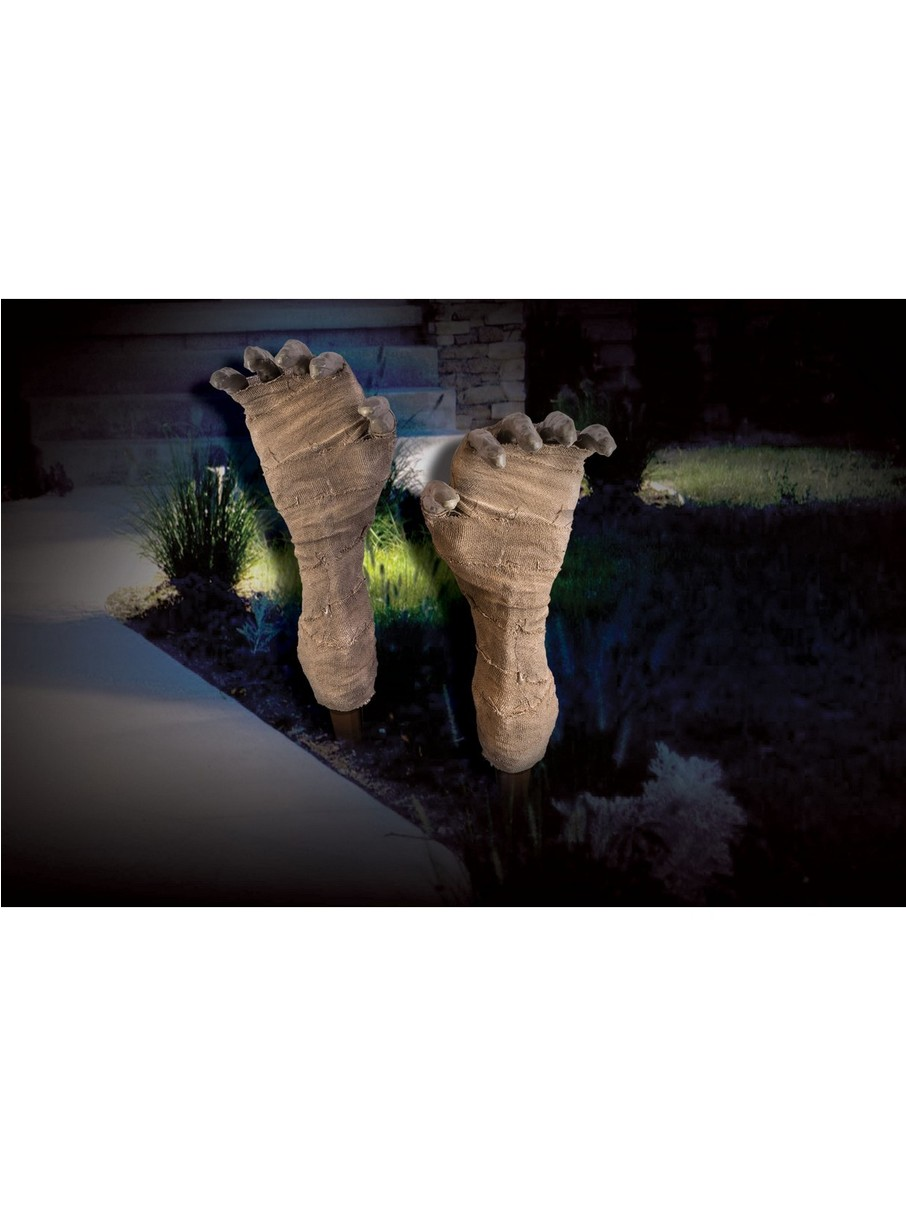 View larger image of Mummy Lawn Stakes Decoration