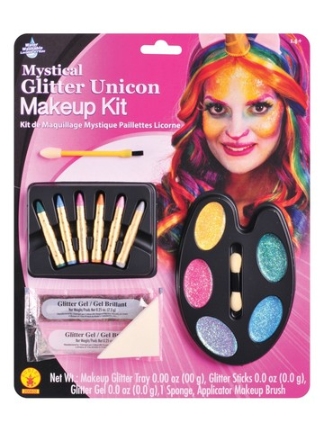 Mystical Glitter Unicorn Make-Up Kit Accessory