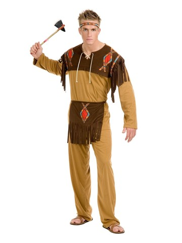 Native American Brave Costume for Men