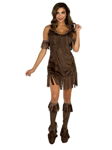 Native American Girl Costume for Adults