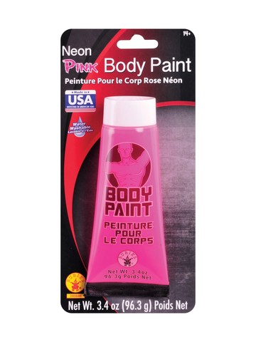 Neon Pink Body Paint Make-Up