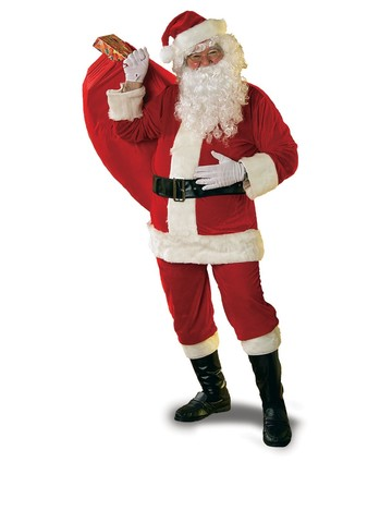 New Velour Santa Suit
