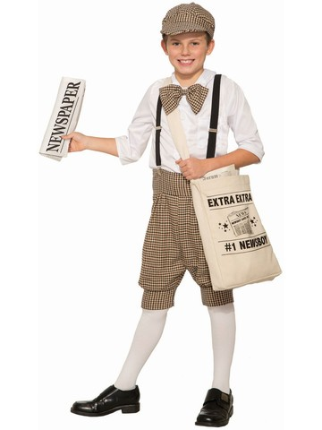 Newsboy Costume for Toddlers