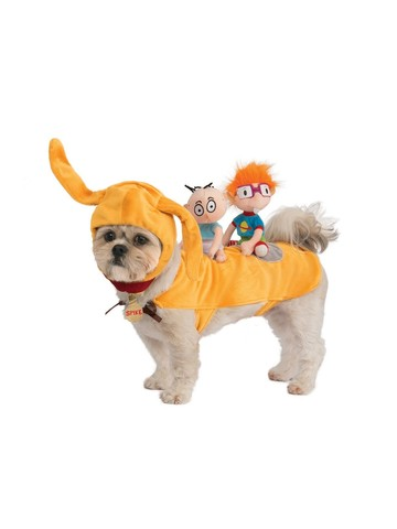 Rugrats Spike with Chuckie & Tommy Costume for Pets