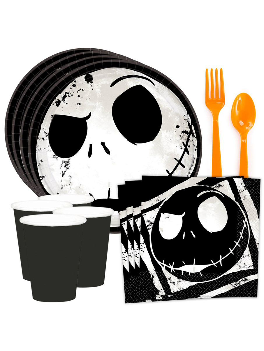 View larger image of Nightmare Before Christmas Standard Tableware Kit (Serves 8)