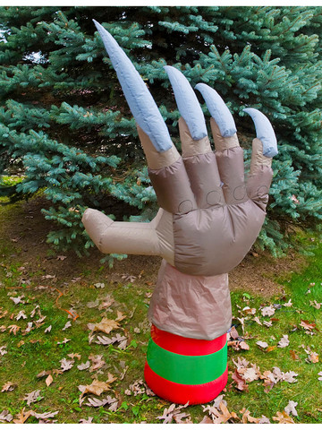 Nightmare On Elm Street Freddy Animated Inflatable Glove Costume Accessory