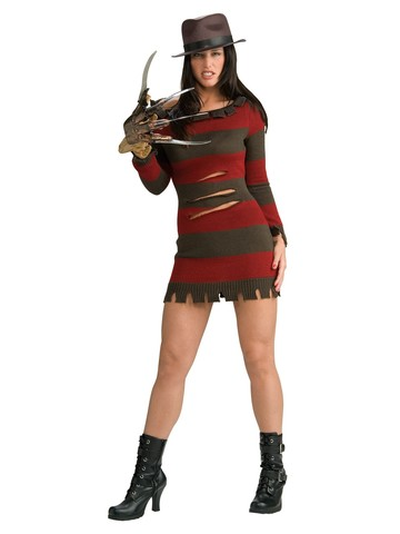 Nightmare On Elm Street Sexy Ms. Freddy Krueger Costume