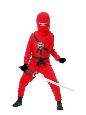 Child's Red Ninja Avenger Costume - Series I