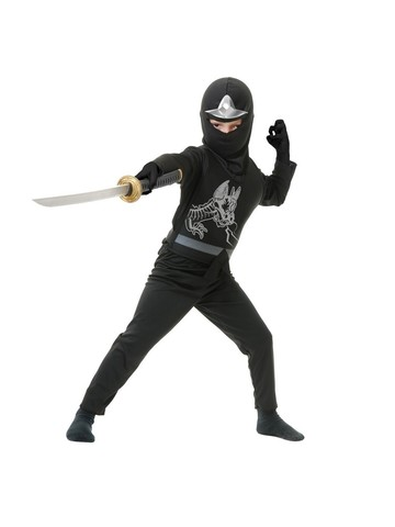 Black Dragon Ninja Avenger Child Costume