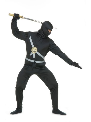 Ninja Avenger Series 1 Black Costume