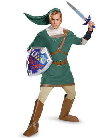 Nintendo's The Legend Of Zelda Link Prestige Adult Costume