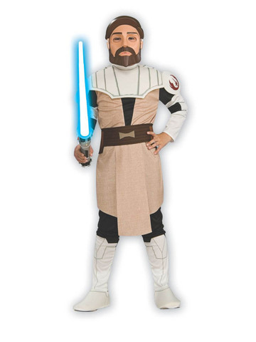 Star Wars Animated Obi Wan Kenobi Child Costume