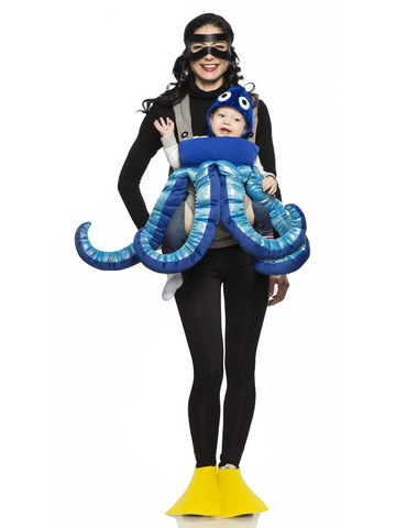 Octopus Costume for Baby Carriers