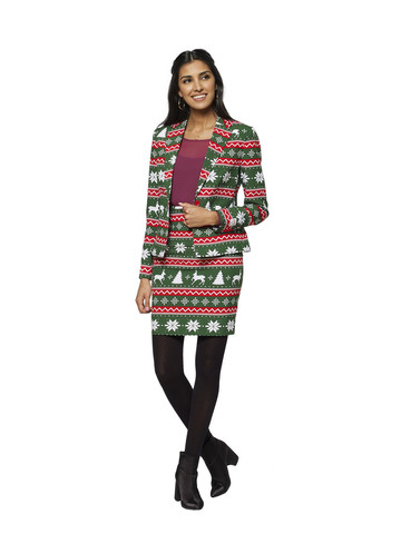 OppoSuits Festive Girl Womens Suit