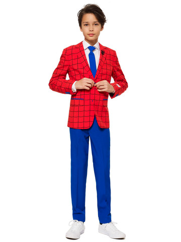 Teen Boy's Spiderman OppoSuits Set