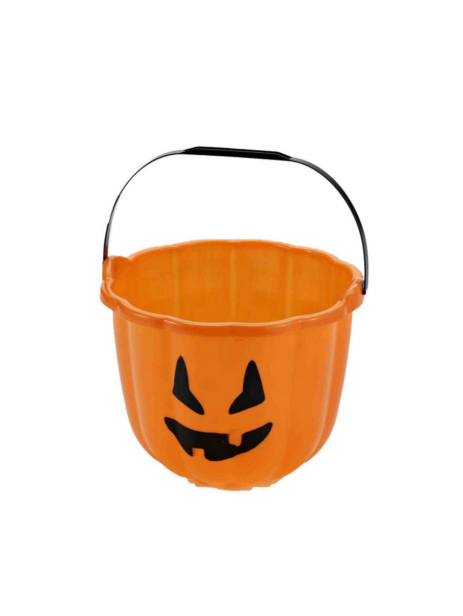 View larger image of Trick or Treat Pumpkin Bucket