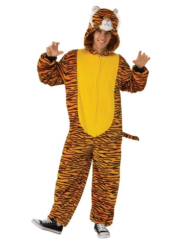 Comfy Wear Orange Tiger Costume