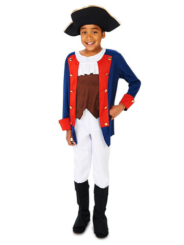 Kids Patriot Soldier Costume