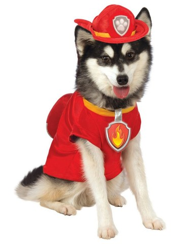 Pet Marshall Costume - Paw Patrol